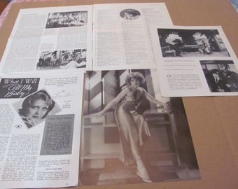 CLARA  BOW  CLIPPINGS  #0511