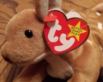 Ty Whisper Beanie Baby RARE Collectible Error on Hang Tag 1997 - Tush Tag 1998 Price Lowered