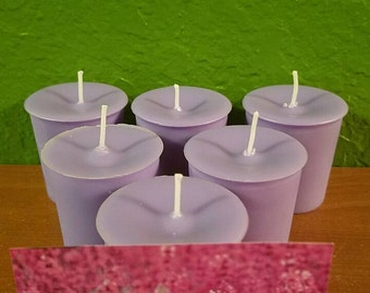 Lavender soy wax votives