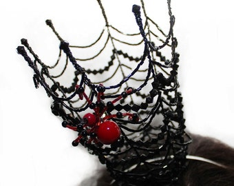 Crown Web spider Halloween