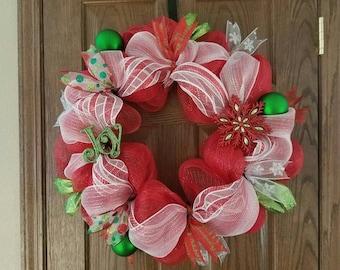 Christmas Wreath/Door hanger