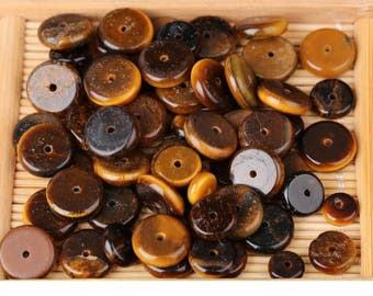 50pcs-Tiger eyes stone beads,Spacer beads,6-10mm,round beads,loose beads for Jewelry making Y0255