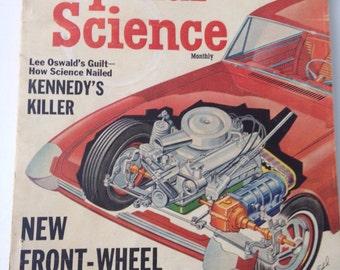 Vintage Popular Science Magazine/April 1965 Poular Science/Vintage magazine/vintage illustrations/CLEARANCE