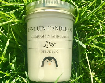 Lilac 8oz. Soy Candle