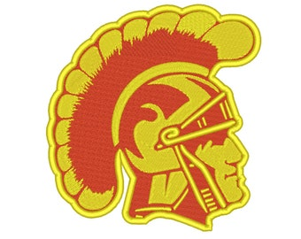 5 Size USC Trojans Embroidery Design College Football Embroidery Designs Instant Download Machine Embroidery Designs PES