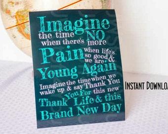 JW,Imagine The Time Wall Print,jw Original Song Jw Poster,Jw Broadcasting,Jehovah Witness Pictures,jw gifts,JW Quote Wall Art,jw.org jwstuff