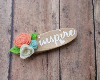 One Little Word - Driftwood magnets