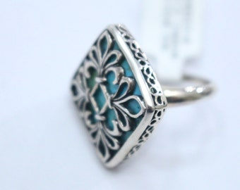 Sterling Silver Turquoise size6
