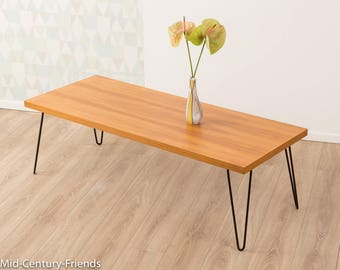 60's coffee table, table, 50's, vintage (703022)
