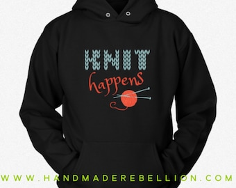 Knit Happens - Womens Shirt, Hoodie, Sweatshirt