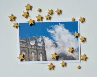 Looming - postcard print