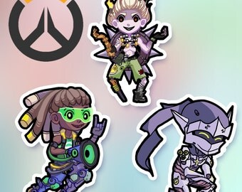 SALE! Overwatch stickers - Only small Genji left!