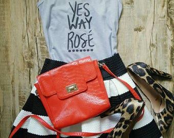 Yes Way Rosé women's tank