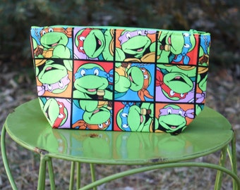 Teenage Mutant Turtle Zipper Bag
