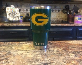 Nfl Football Yeti Etsy