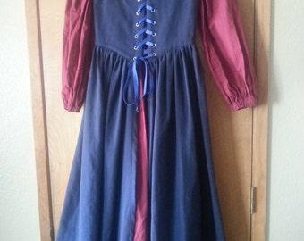 Renaissance Girl's Irish Gown