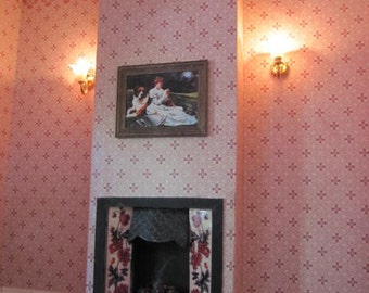 Dollhouse Miniature Fireplaces to order