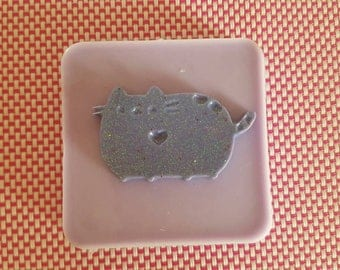 Flexible silicone mold HIGH-fat cat!