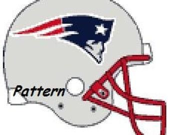 Patriots Helmet Etsy