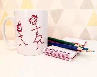 Childrens Drawing mug