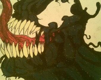 Venom Art Etsy
