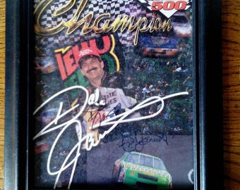 NASCAR Driver Autograph Dale & Ned Jarett