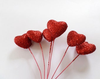 Sparkle Hearts ( Available in a range of colours )