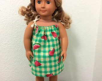 Sun Dress for 18 inch American Girl Doll