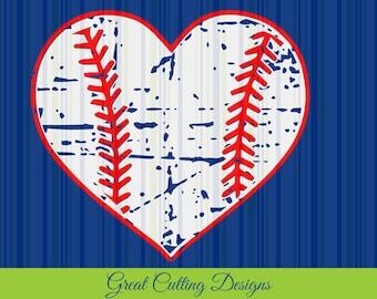 Baseball SVG Cut File distressed svg DXF cut file Cricut svg Silhouette svg Vinyl Cut File Digital cut file Cricut cut Silhouette t shirt