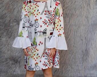 Crystal Dress : Paris Theme