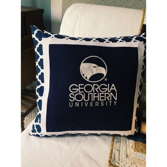 GA Southern T-Shirt Pillowcase