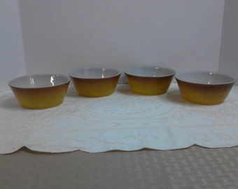 Anchor Hocking Fire King Bowls - Set of 4