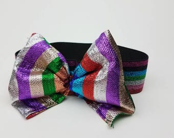 Multicolor Shiny Baby Headband