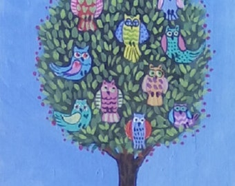 The Owl Tree in Spring