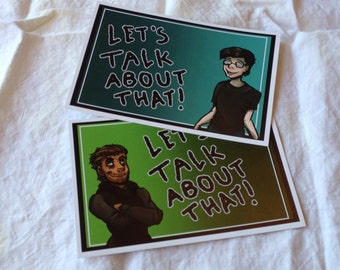 Rhett and Link Postcards (Set of 2)
