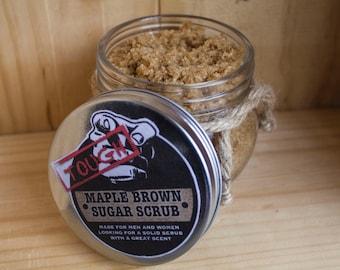 Tough Maple Brown Sugar Scrub