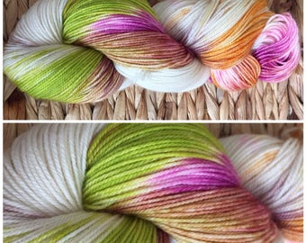 Hand dyed sock yarn MCN - Start Me Up