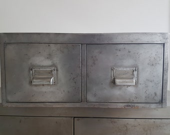 Metal Drawers Refurbished To A High Standard. Vintage & Industrial These Drawers Look Cool Where Ever They Go
