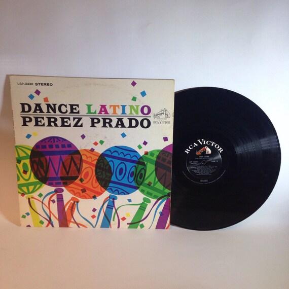 Perez Prado - Dance Latino Vinyl Record c1965 LSP-3330 RCA