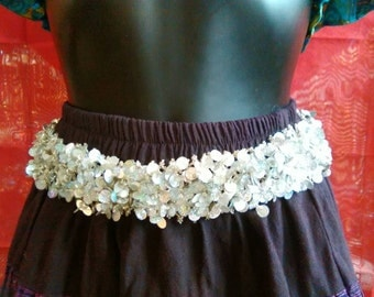 Belt sequins, belt party, belt Boho, belt of dress