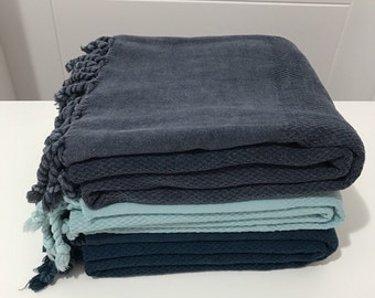 Spring decorations, 3 pcs turkish towel set, waffle cotton towel, beach towel, Bath towel, peshtemal, hammam towel, spa towel, yoga towel,