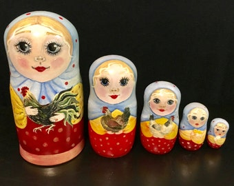 Hand-painted Matryoshka