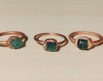 Ring Emerald · Solitaire Emerald · Craft ring