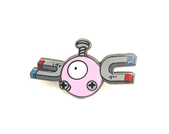 Magnemite Lapel Pin