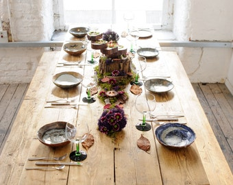 Rustic Trestle Table Hire For Weddings and Events