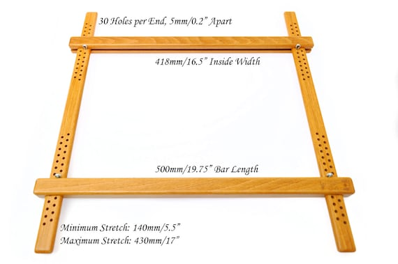 500mm 1975 Wooden Embroidery Slate Frame Made From