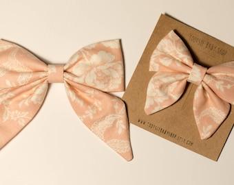 Blush Sailor Bow