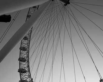 London Photography, London Eye Ferris Wheel