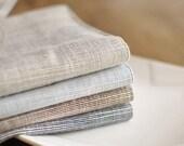 Natural linen of placemats, basic linen...