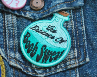 The Essence Of Boob Sweat Patch - Iron On Patch